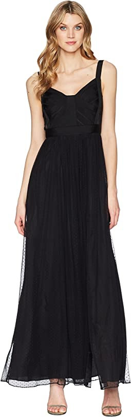 Adrianna Papell Sleeveless Long Dress