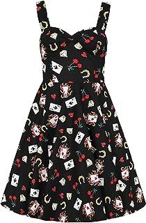 Hell Bunny Femme Viva Las Vegas 50s Circulaire Jupe