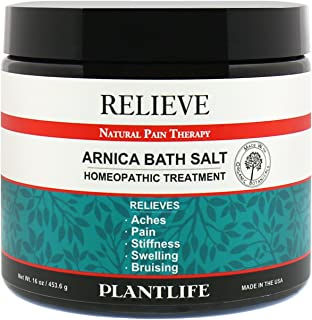 Relieve Arnica Bath Salt,16 oz