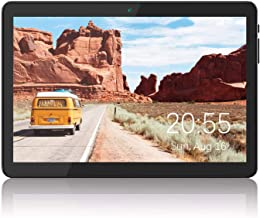 Tablet 10 inch Android 8.1 Go, 3G Unlocked Phablet with Dual SIM Card Slots, 16GB Storage, WiFi, Bluetooth, GPS, Quad-Core...