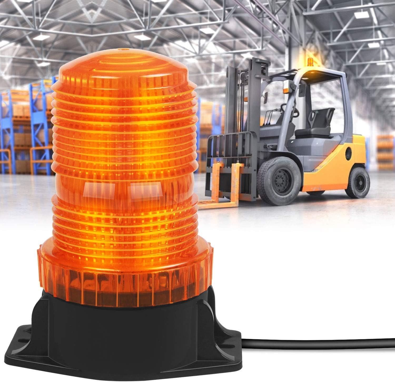 ONERAY Forklift Safety Light Red Arc LED Warning Light Warehouse Pedestrian Warning Arch Zone Spotlight 20W DC10-80V for Truck Security Indicator Spotlight Brightness 4 Pack New