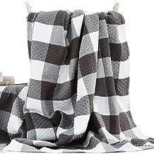 Bawełna Kołdra Ręcznikowa w Kolorze Vintage, Koc Klimatyzowany Domowe Biuro Przerwa na Lunch Cztery Pory Roku Uniwersalny ...