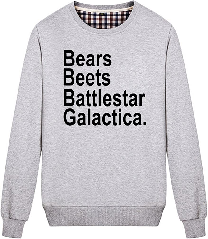 TENKING Bears Beets Battlestar Galactica Sweatshirt