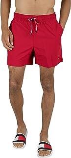 Tommy Hilfiger Medium Drawstring Swim Shorts, Tango Red