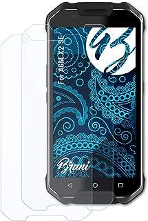 Bruni Skärmskydd är kompatibel med AGM X2 SE Film, kristallklart Skyddsfilm (2X)