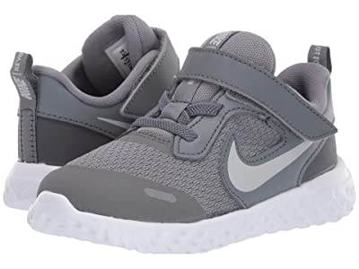 Nike Kids Revolution 5 (Infant/Toddler) (Cool Grey/Pure Platinum/Dark Grey) Boys Shoes