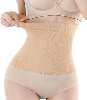 FOUMECH Women's Waist Shapewear Belt-Postpartum Belly Wrap Band-Girdles for Women Body Shaper Tummy Control Waist Cincher