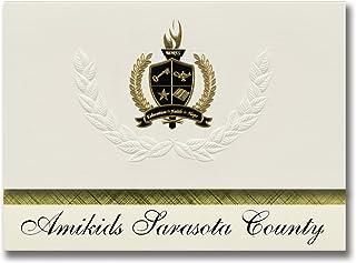 Signature Announcements Amikids Sarasota County (Sarasota, FL) Graduation Announcements, Presidential style, Basic package...