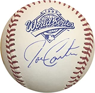 fe3cdcfe53b Joe Carter Toronto Blue Jays Autographed 1993 World Series Signed Baseball  JSA COA With UV Display