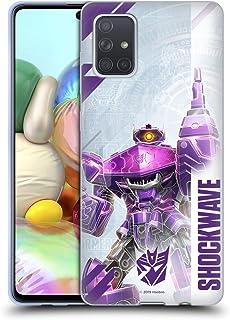 Officiële Transformers Schokgolf Decepticons Key Art Soft Gel Case Compatibel voor Samsung Galaxy A71 (2019)