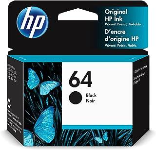 HP 64 | Ink Cartridge | Black | Works with HP ENVY Photo 6200 Series, 7100 Series, 7800 Series, HP Tango and HP Tango X | ...