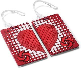 Samsonite Designer Luggage Id Tags - True Love (Pair), True Love (red) - 74164-5237