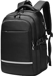 SUNOGE リュック ビジネスリュック バックパック リュックサック メンズ 大容量 USB充電ポート付き 15.6インチPC対応 盗難防止 通勤 通学 出張 旅行 黒