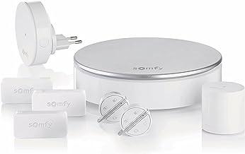 Somfy 2401497 - Home Alarm - Système d'Alarme Maison sans Fil Connecté - Somfy Protect - Compatible avec Alexa, l'Assistant Google et TaHoma