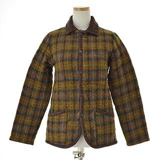 (ラベンハム) LAVENHAM チェック柄 ツィードウール キルティングジャケット
