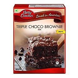Betty Crocker Triple Choco Brownie Mix, 425g