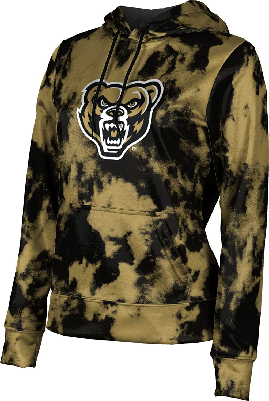 ProSphere Oakland University Girls' Pullover Hoodie, School Spirit Sweatshirt (Grunge)