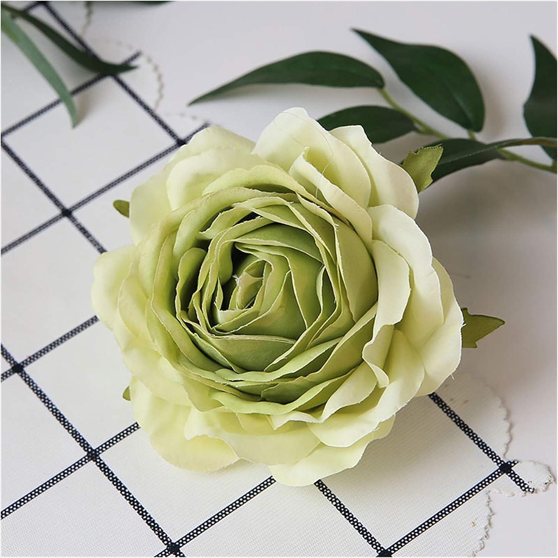 Ranking TOP3 YSCSPQA Artificial Flowers 5pcs Same day shipping Flower European Rose