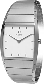 Obaku Women's Dial Stainless Steel Band Watch - V142LGISG