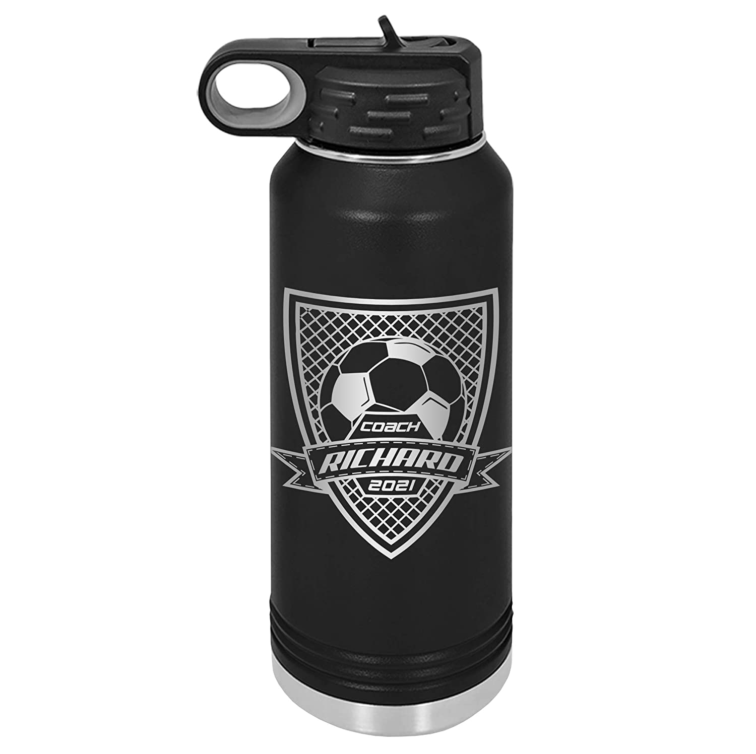 Free shipping New Soccer Coach gifts Fiftyfifty Coac Don't miss the campaign bottle Water