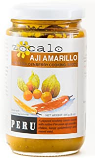 Zócalo Organic Aji Sauce - Amarillo Chili with Goldenberry (8 ounces)