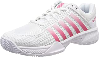 WHITE//ELECTRICBLUE//ORANGE EU 29.5 Wei/ß Blanco Zapatillas de tenis Unisex Ni/ños UK 11.5 K-Swiss Performance Ultrascendor Omni Strap Jr