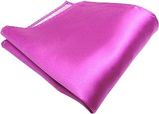 100/% de seda TigerTie Multi pa/ñuelo en rosa rosa magenta beige modelada