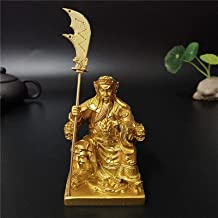 Rijkdom Geluk Standbeeld Gouden Guan Gong Boeddhabeeld Woondecoratie Chinese Feng Shui Grote Boeddha Sculptuur Beeldjes Or...