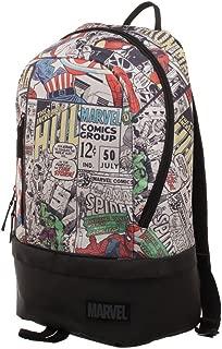 Marvel Comic Backpack - Marvel Backpack w/Bottom Zip