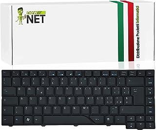 New Net Keyboards - Teclado Italiano Compatible con portátiles Acer Extensa 4230 eMachines E510 Packard Bell Desktop imedia 4330 5330 5930 Travelmate 4330 4530 5330 5530 5530G