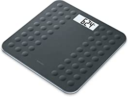 Beurer GS300 Glass Weighing Scale - Black
