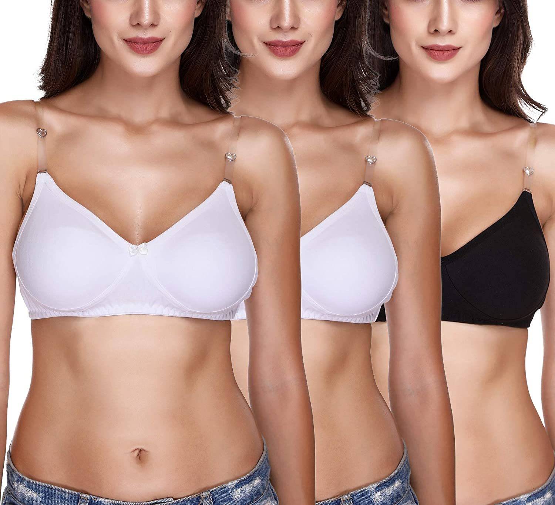 SONA Seattle Mall Women's Hosiery Cotton m1017 Non-Padded T-Shirt Oakland Mall Bra