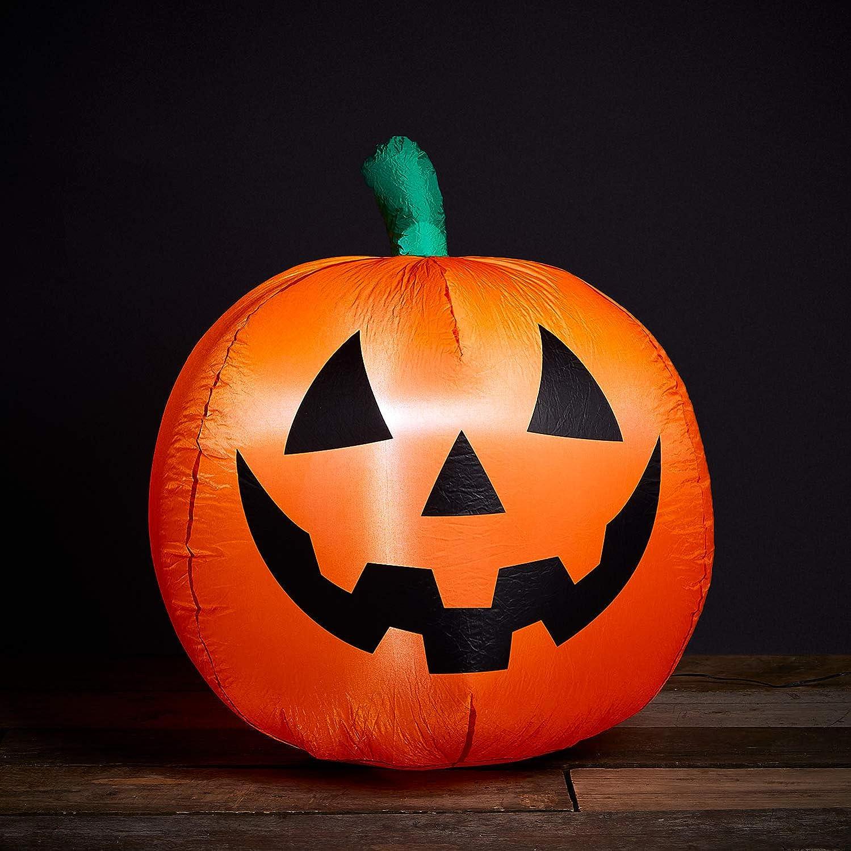 Lights4fun Inc. 3ft Inflatable wit Pumpkin Halloween Decoration Factory outlet Popular standard