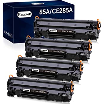 GPC Image CE285A 85A Reemplazo para HP 85A CE285A Cartucho de Toner para HP Laserjet Pro P1102 P1102W P1100 P1109 M1210 M1212NF M1212 M1217NFW M1132 M1136 M1217NFW 4 Negro