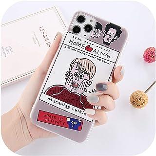 絶妙漫画航空券電話ケースFor iphone 11プロマックスX XR XS最大6 6 s 7 8プラス個人的なかわいい絵画ソフトバックカバー-T3-For iphone 11