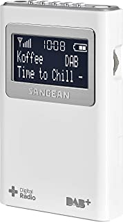 Sangean DAB+/FM Pocket Radio - DPR-39WH