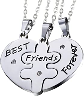 Sets of 3pcs Stainless Steel Friendship