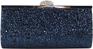 HOZMLIFE Women Evening Envelope Evening Bag Clutch Rhinestone Party Bridal Clutch Purse Shoulder