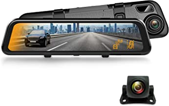 """$199 » Sponsored Ad - REXING M2 Smart BSD ADAS Dual Mirror Dash CAM 12"""" IPS Touch Screen, 1080p (Front+Rear),GPS,Stream Media, Pa..."""