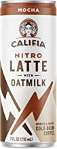 product image for Califia Farms - Nitro Cold Brew Coffee, Oat Milk Latte - Mocha - 7 Oz (12 Cans) | Shelf Stable | Iced Coffee On-the-Go | Clean Energy | Dairy Free | Gluten Free | Plant Based | Non-GMO