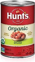 Hunt's Organic Diced Tomatoes, Keto Friendly, 14.5 oz, 12 Pack