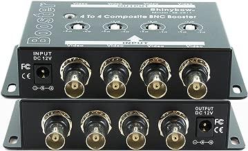 Shinybow 4x4 (4:4) Composite BNC Video Booster Extender Distribution Amplifier SB-2811