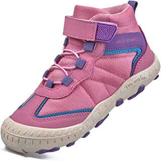 Kids Boys Girls Outdoor Hiking Boots Non Slip Lightweight...