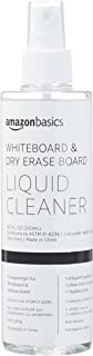 AmazonBasics Dry Erase Markers Board Liquid Spray Cleaner for Whiteboards - 8.5-Ounce, 1-Pack