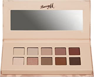 Barry M In The Buff Eyeshadow Palette for a Warm, Neutral makeup