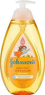 Johnson's Baby Soft and Smooth Shampoo, 800ml