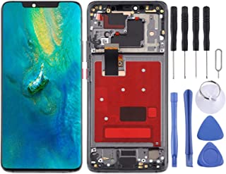 SHUHAN LCD Screen Phone Repair Part LCD Screen and Digitizer Full Assembly with Frame for Huawei Mate 20 Pro Mobile Phone ...