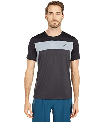 ASICS Race Short Sleeve Top (Graphite Grey/Performance Black) Men