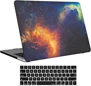 MacBook Pro 13 Case 2017 2016 Release A1706/A1708 ProCase Hard Case Shell Cover and Keyboard Skin Cover for Apple Macbook Pro 13 Inch with/without Touch Bar and Touch ID -Galaxy Fire and Ice
