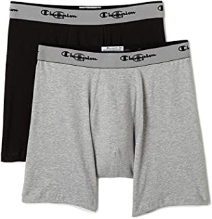 Champion Men Double Dry Active Fit Boxer Briefs - 2 Pack u477wh White